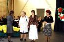 60-lecie szkoły - Podziękowania dla byłych dyrektorów szkoły