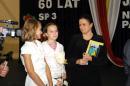 60-lecie szkoły - Nagrody za konkurs literacki i plastyczny