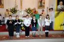 Sztandar SP Nr 3 im. Jana Pawła II - msza święta